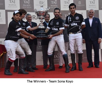 India – Sanjay Kapoor's Polo team Sona Koyo lifts Sir Pratap Singh Polo Cup 2018