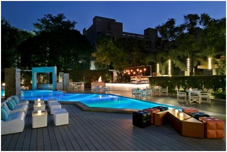 India – Romantic poolside soirees at The Deck at Hyatt Regency Delhi