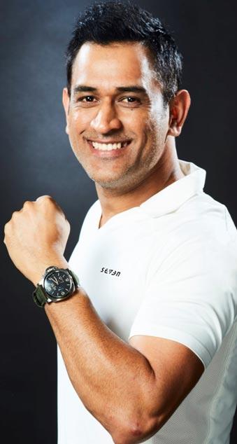 India – Cricket icon MS Dhoni is brand Ambassador of Panerai in India