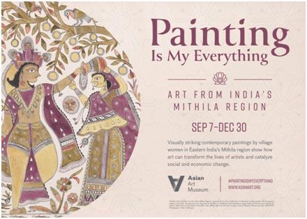USA – Mithila Art exhibition in San Francisco's Asian Art Museum