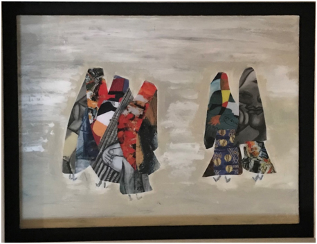India – French Artist Stephanie Arpels shows at Prithvi Art Gallery group Exhibition