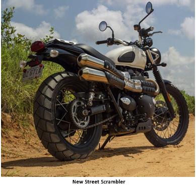 India – Triumph Motorcycles launches the all-new Street Twin & the new Street Scrambler