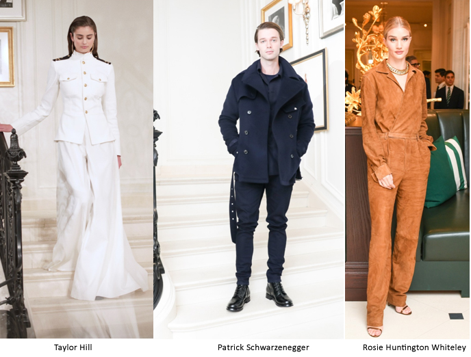 USA – Ralph Lauren's Spring 2019 collection at New York Fashion Week