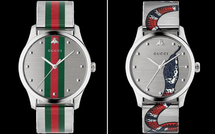 Gucci's New Watch lines