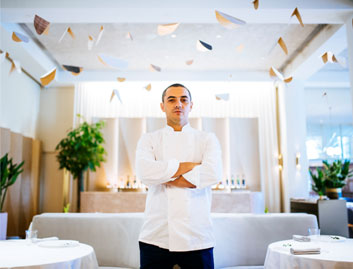 What is Chef Julien Royer's favourite ingredient?