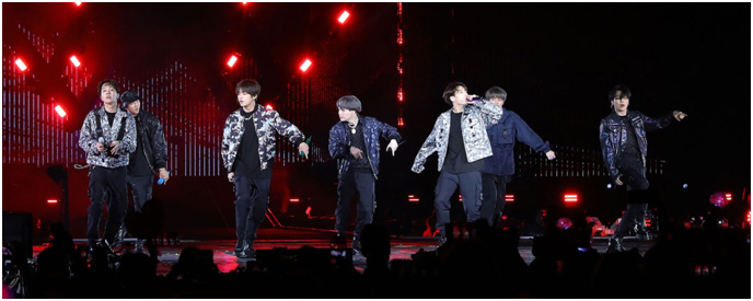 South Korea – Iconic Boy Band BTS dressed by Dior for ongoing world tour