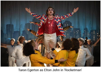 France / Italy – Gucci outfits in Elton John film 'Rocketman' at Cannes Film Festival