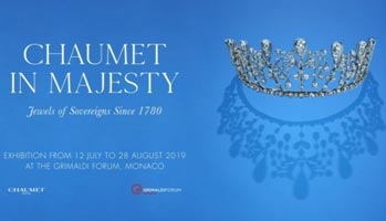 Monaco – Chaumet's upcoming exhibition to feature Tiaras