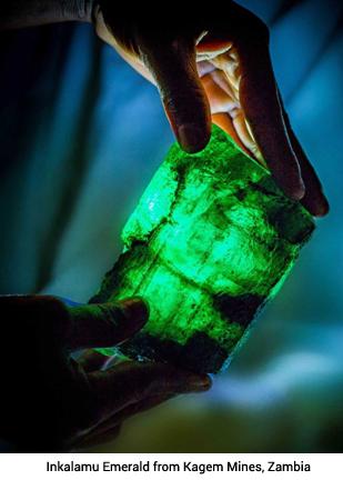 Singapore/India –DIACOLOR unveils 1.13 kg Inkalamu emerald in Delhi
