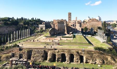 Italy – FENDI helps restore historic Temple of Venus and Rome