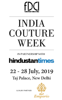 India- FDCI's India Couture Week 2019 kicks off from 22-28 July