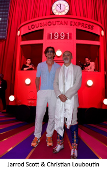 """France – Christian Louboutin Unveiled S/S 2020 Women's Collection with a """"Loubhoutan Express"""""""