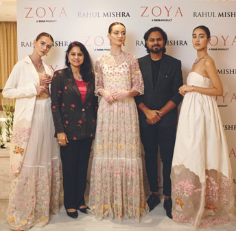 India / France – Zoya goes to Paris Fashion Week with Rahul Mishra