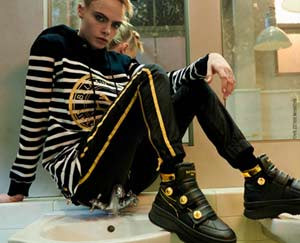 France / USA – Balmain and Puma collaborate with Cara Delevingne for unisex limited edition collection
