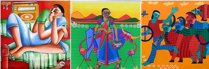 'It's a Beautiful World' Thota Laxminarayana