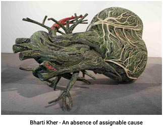 India – Nature Morte art show at Bikaner House' launch of  Center for Contemporary Art