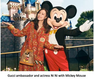 Italy – Gucci celebrates Chinese New Year of the Rat with Mickey Mouse