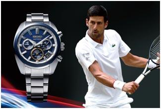 Japan / Serbia – Seiko's new Astron GPS Solar watch flies the flag for Novak Djokovic