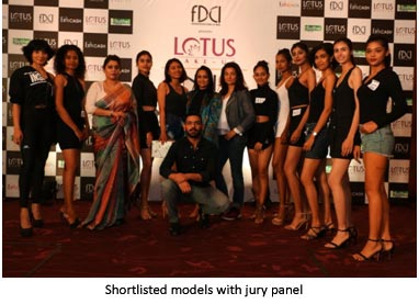 India – FDCI holds Kolkata Model Auditions for LMIFW AW'20