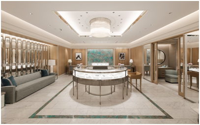 India – First Tiffany & Co Store in India opens at The Chanakya, New Delhi