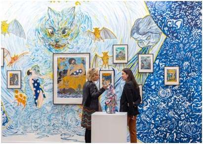 India – 12th India Art Fair 2020 reports strong sales and new venue for 13th edition