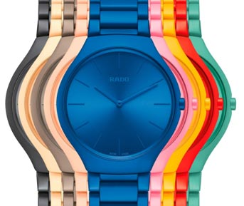 Switzerland / India – Rado True Thinline Les Couleurs Le Corbusier collection launched in India