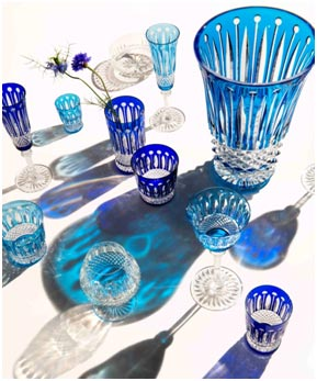 India / France –Saint Louis'Iconic Cystalware Collection – Tommy in India with Emery Studio