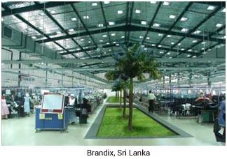 brandix, Sri Lanka