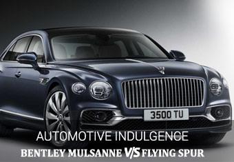 Bentley Mulsanne VS Flying Spur