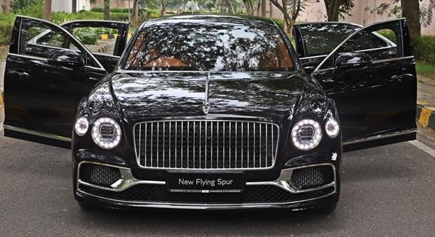 Bentley luxury saloon