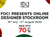 FDCI organises online discount sale