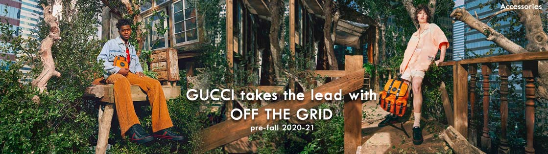 GUCCI takes the lead with OFF THE GRID