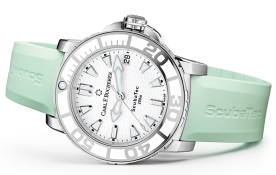 Switzerland – Carl F Bucherer's New Additions to the PATRAVI ScubaTec Lady Collection