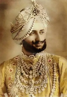 Indian native Maharaja