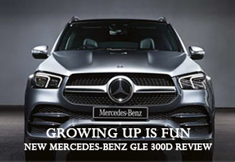 NEW MERCEDES-BENZ GLE 300D REVIEW