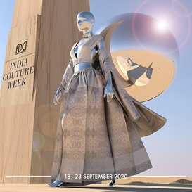 India – FDCI's digital India Couture Week 2020 from September 18-23