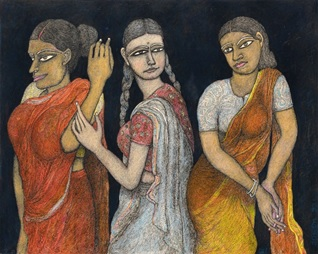 Japan / India – Travelling exhibition of Jogen Chowdhury works from Glenbarra Art Museum