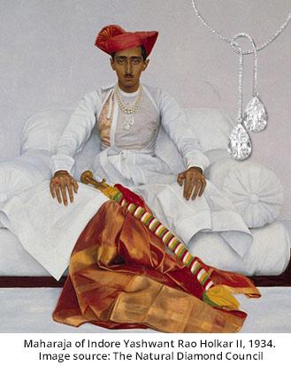 Maharaja of Indore Yashwant Rao Holkar II, 1934