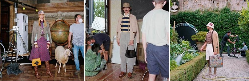 Italy – Gucci's latest campaign 'The Epilogue' continues to question fashion rules