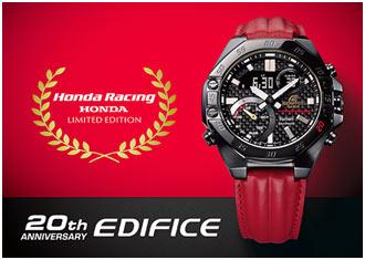 India – Casio launches EDIFICE Collaboration Model with Honda Racing Car
