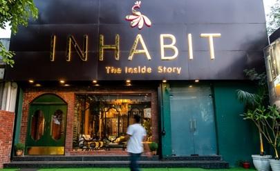India – Interiors specialists INHABIT open shop in Delhi on MG Road