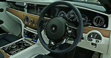 The new Ghost interior