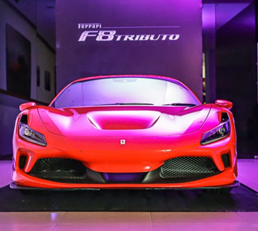 Ferrari's latest V8 mid-engined supercar