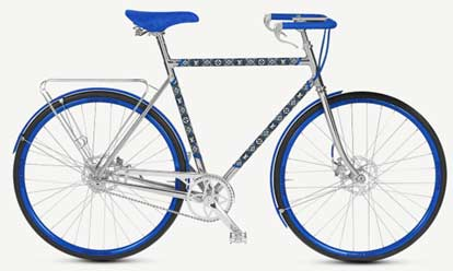 France – Louis Vuitton partners  Maison Tamboite for Luxury Bicycle line