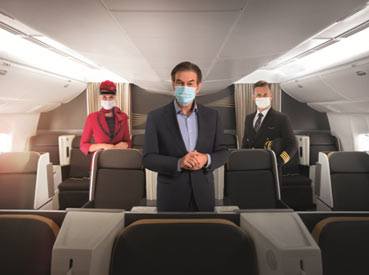 """Turkey – Turkish Airlines launches new hygiene programme, """"TK Extra Care"""" with Dr Oz"""