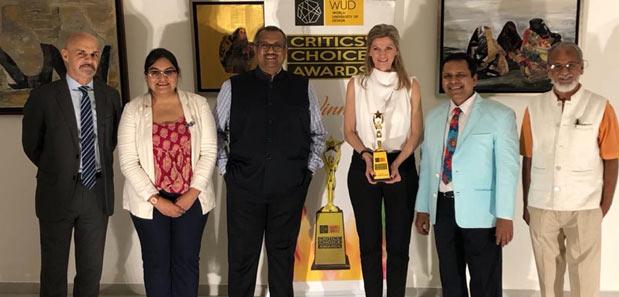 India / France – Artist Stephanie Le Beller Arpels wins '2021 Critics Choice Award' by  World University of Design