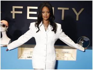 USA – Rihana's LVMH backed Fenty Fashion House suspends business