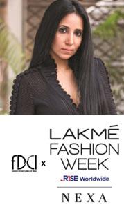 Anamika Khanna to Open FDCI X Lakmé Fashion Week
