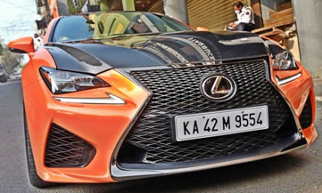 India ReviewIs Lexus RCF the ideal super car for India?