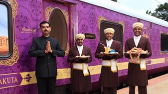 India – Luxury train 'Golden Chariot' resumes service with IRCTC